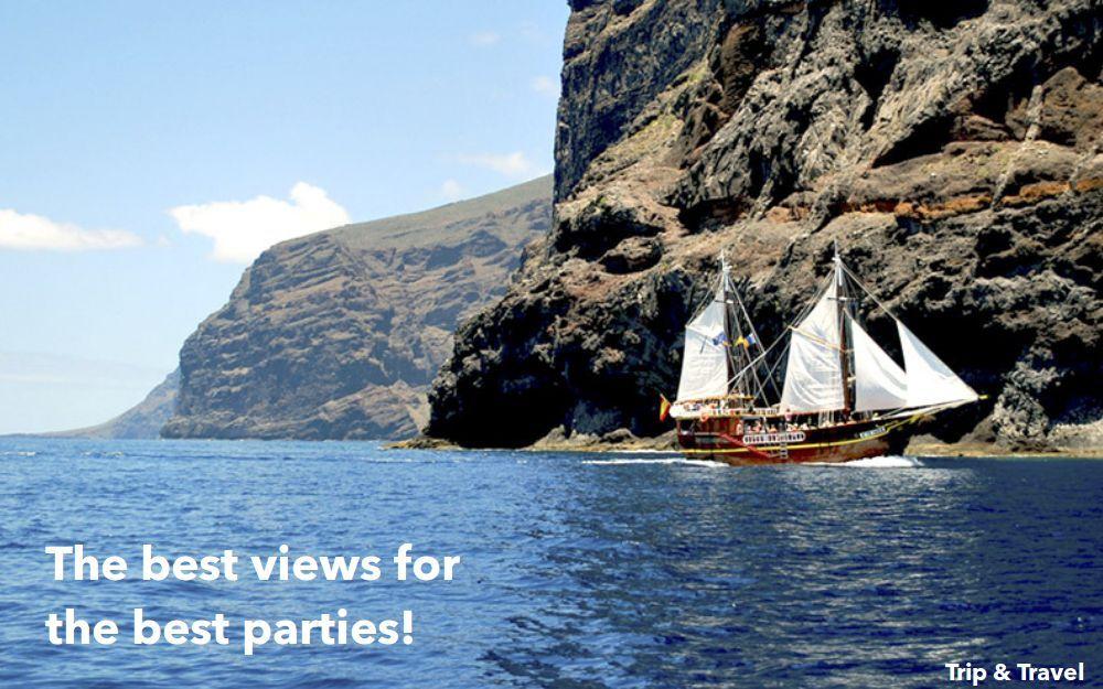 Tenerife booze cruise trips tours tickets hotels - Coches de alquiler en puerto de la cruz tenerife ...